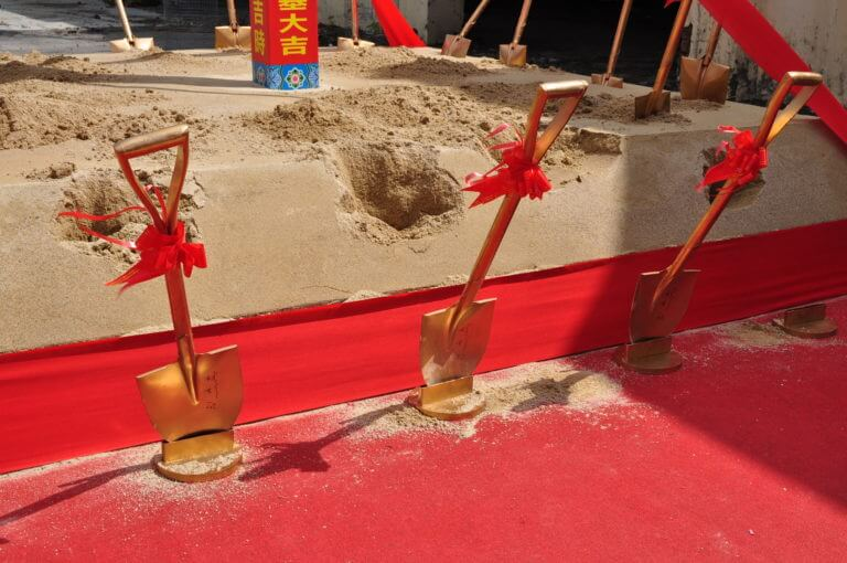 Ground-breaking Ceremony